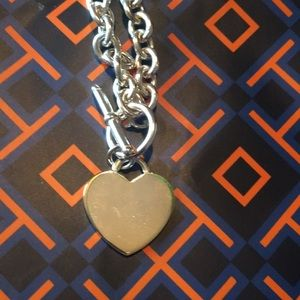 Jewelry - Heart toggle choker
